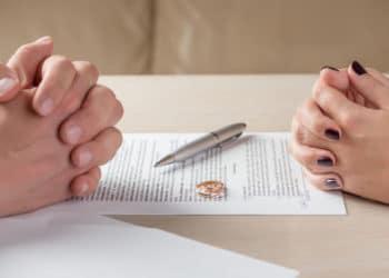 Scheidungsvereinbarung bei einer einvernehmlichen Scheidung